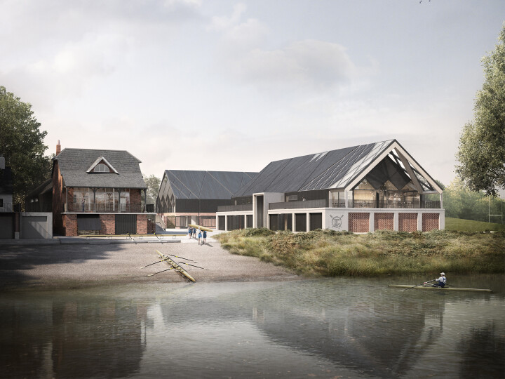 The Quintin Boat Club + University of Westminster Boat House