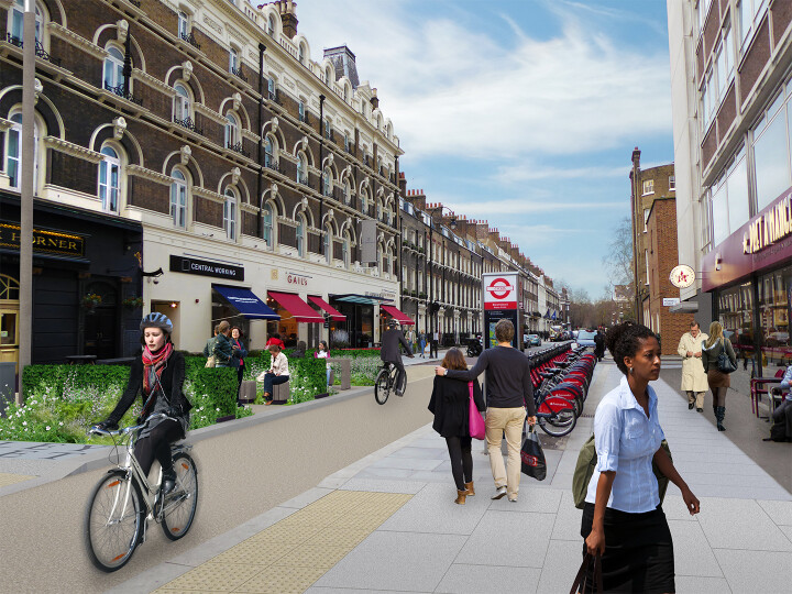 How are UK cities adapting their streets for active travel?
