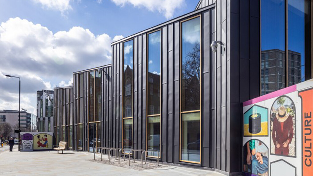 Bennetts and Arup complete 'unique' zinc-clad CLT sports hall