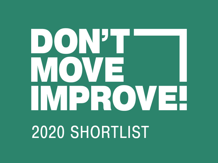 Don't Move, Improve! 2020 Shortlist