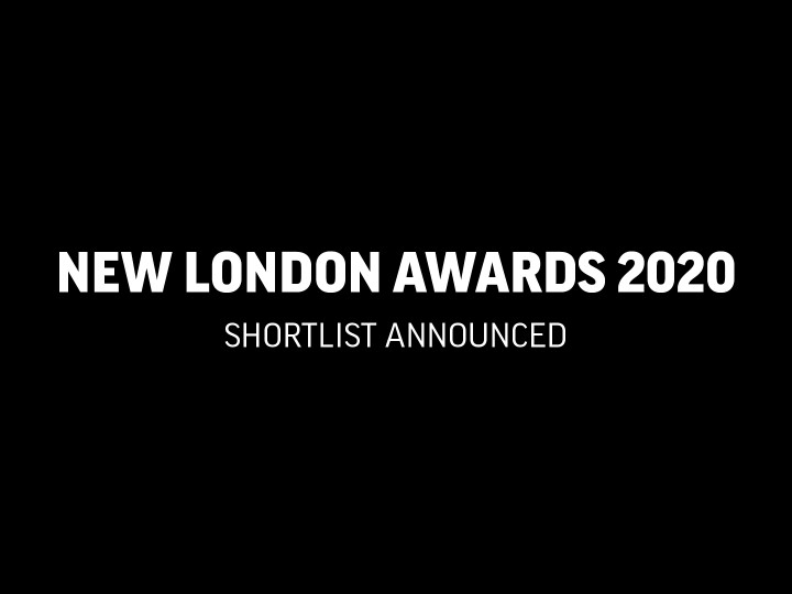 New London Awards 2020 Shortlist