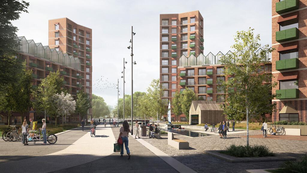 Staples Corner Brent – Urban Farm & Liveable Space