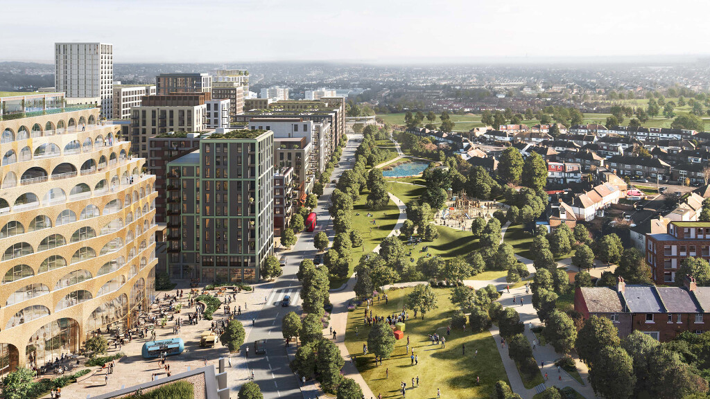 Argent Related launches £5bn Brent Cross Town and new 'Flourishing index'