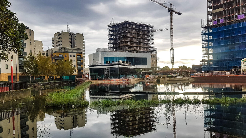 Changing face of Thamesmead
