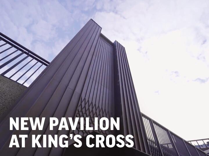 Granary Square Pavilion