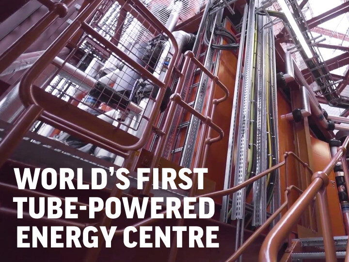 Bunhill 2 Energy Centre, world-first heat recycling