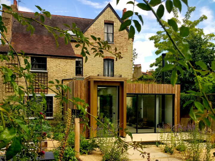 Extension within a Garden