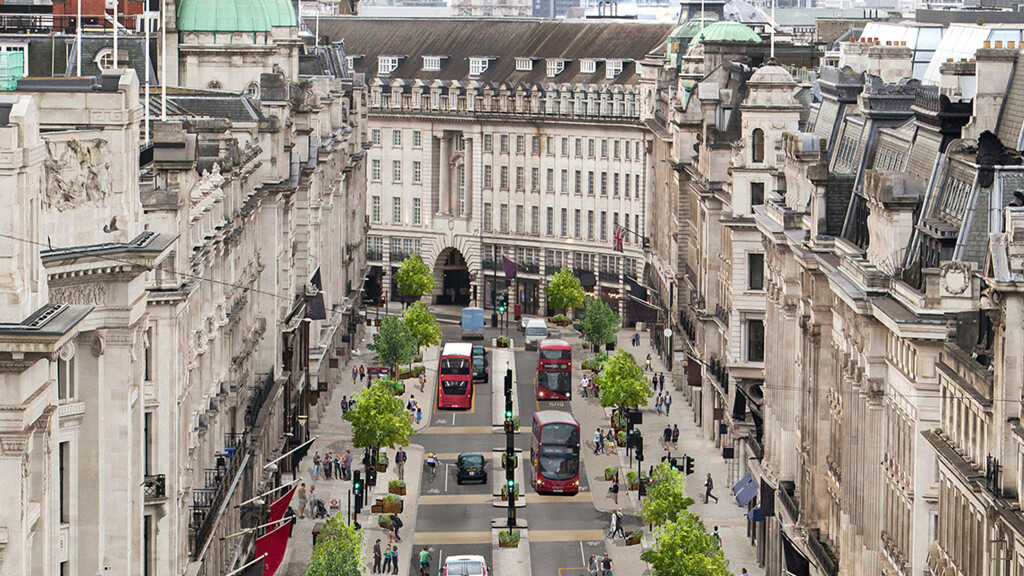 Collaboration the key on Regent Street renewal