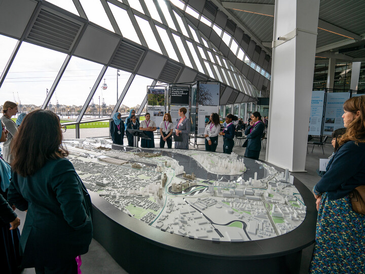 Fridays: Royal Docks Model and Exhibitions Talk