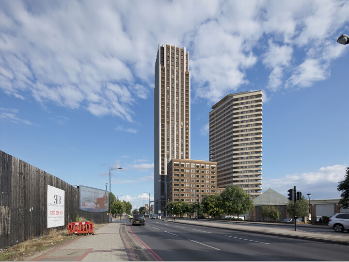 596-608 Old Kent Road (former Civic Centre)