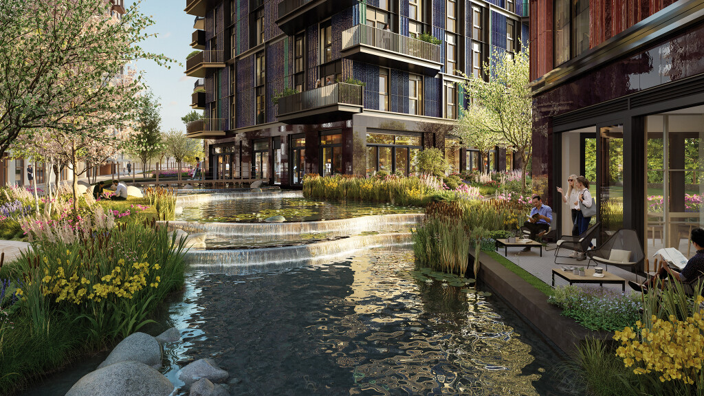 The Water Gardens, White City Living, Phase 3