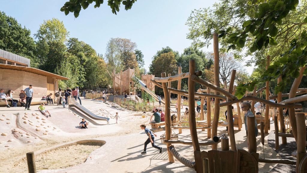 Holland Park Playground