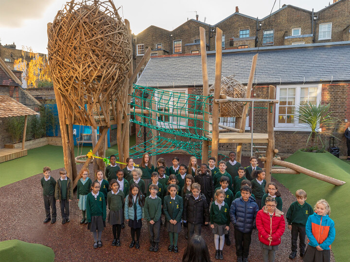 Park Walk Primary School Playground